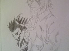 Wallpapers Art - Pencil Mikami - Death Note