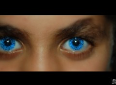 Wallpapers Digital Art Blue eyes