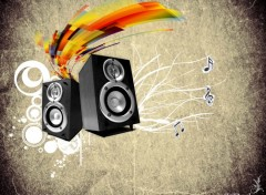 Wallpapers Digital Art enceinte music