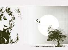 Wallpapers Digital Art Luna