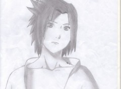 Wallpapers Art - Pencil sasuke
