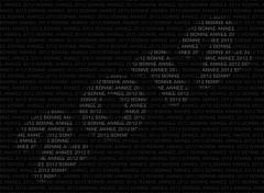 Fonds d'écran Art - Numérique Bonne Année 2012