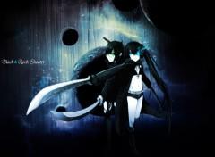 Fonds d'écran Manga Black★Rock Shooter