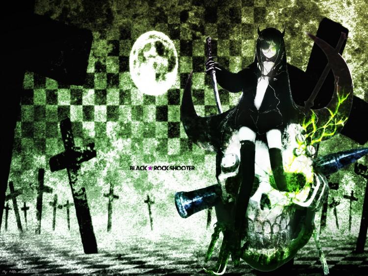 Fonds d'écran Manga Black Rock Shooter Black rock shooter