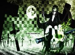 Fonds d'écran Manga Black rock shooter