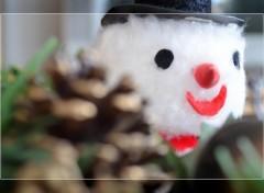Fonds d'écran Objets Bonhomme de neige