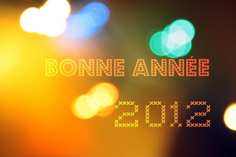 Wallpapers People - Events Holidays Bonne année 2012
