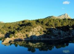 Wallpapers Trips : Europ Lac de bimont et le Massif de la Sainte-Victoire