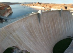 Wallpapers Constructions and architecture Le barrage de lac Powell