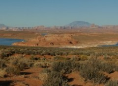 Wallpapers Nature Panorama du lac Powell