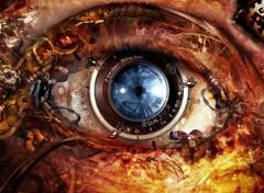 Wallpapers Digital Art Mechanical eye