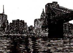 Wallpapers Art - Pencil New York
