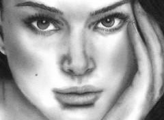 Wallpapers Art - Painting Natalie Portman