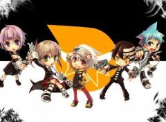 Fonds d'écran Manga Soul Eater chibi