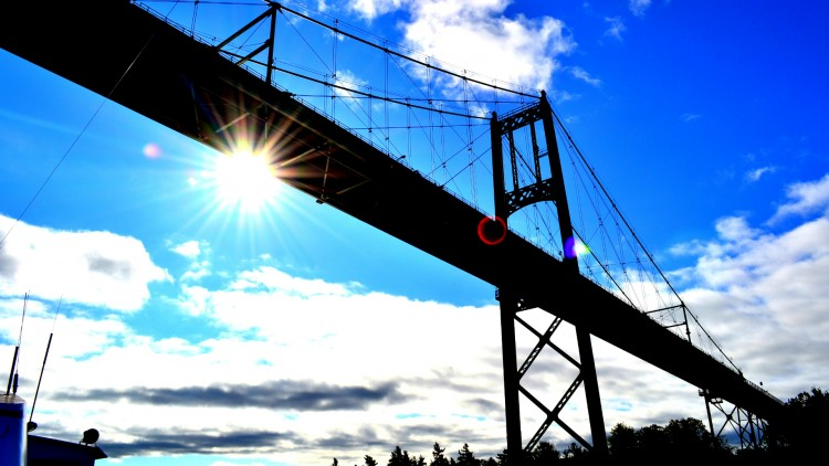 Wallpapers Trips : North America Canada Thousand islands Bridge