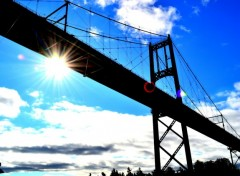 Wallpapers Trips : North America Thousand islands Bridge