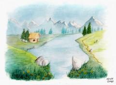 Fonds d'écran Art - Peinture Paysage (3eme)