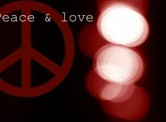 Fonds d'écran Art - Numérique Peace & love