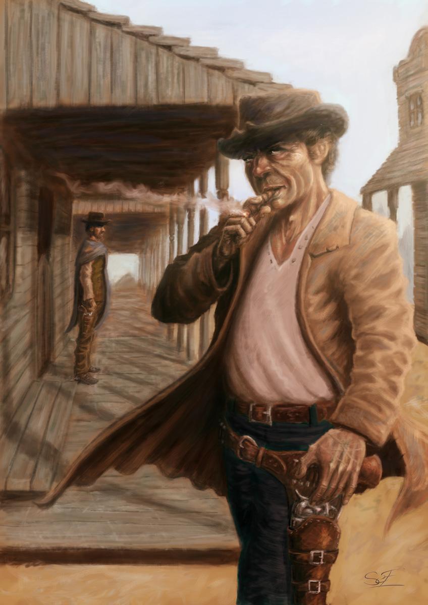 Fonds d'écran Art - Numérique Illustration Western