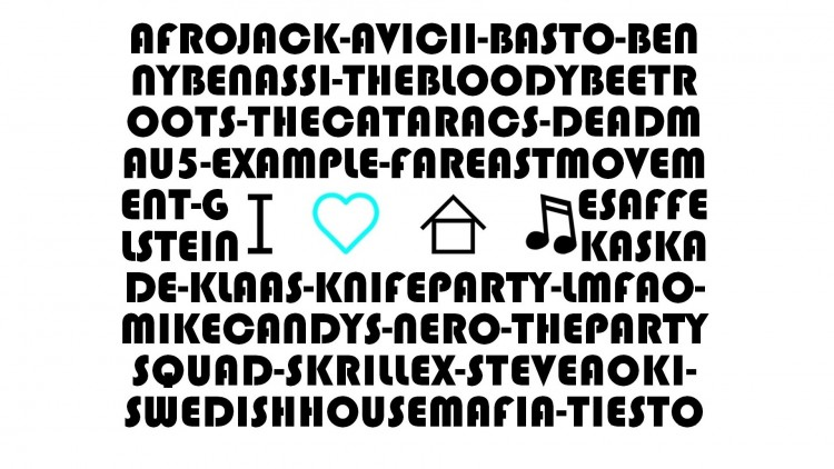 Wallpapers Music Wallpapers Electronica I Love House Music