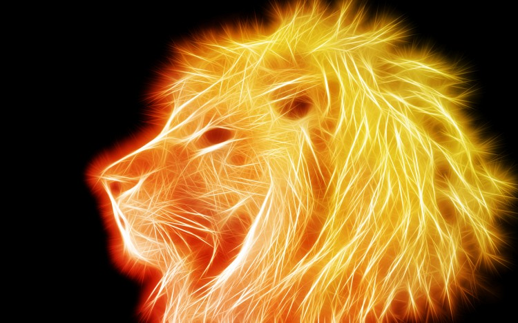 Wallpapers Digital Art Animals Lion