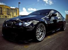 Fonds d'écran Voitures BMW M3 2010 Black