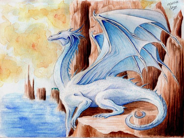 Fonds d'écran Art - Peinture Fantasy Aquarelle (6eme essai)