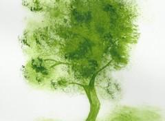 Fonds d'écran Art - Peinture L'arbre