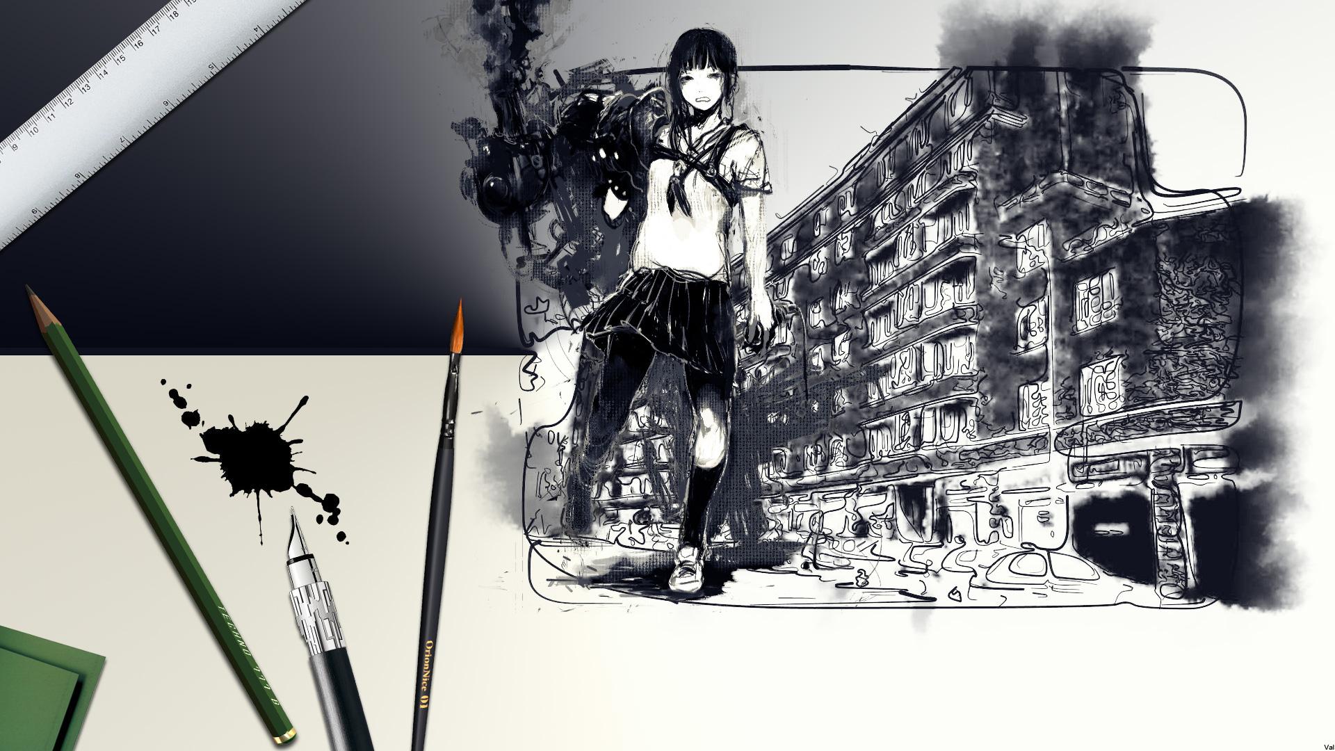 Fonds d'écran Art - Peinture Anges & Démons Street Art