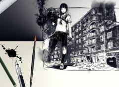 Fonds d'écran Art - Peinture Street Art