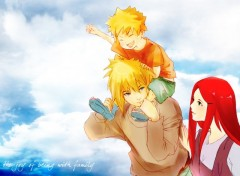 Fonds d'écran Manga Naruto family