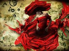 Fonds d'écran Art - Numérique La belle rose
