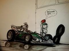 Fonds d'écran Art - Crayon Schumacher
