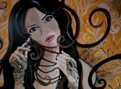 Fonds d'écran Art - Peinture Henné