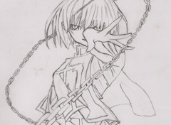 Wallpapers Art - Pencil Kurapika