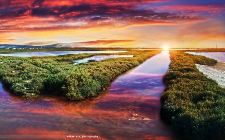 Wallpapers Nature Sunsets and sunrises Couleurs de l'aube