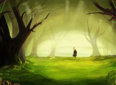 Wallpapers Digital Art Spiritual Forest