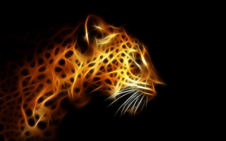 Wallpapers Digital Art Animals Panthere