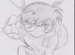 Fonds d'écran Art - Crayon Conan = Shinichi Kudo ^^