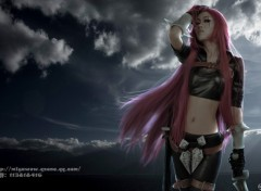 Wallpapers Video Games league of legends-katarina japonaise