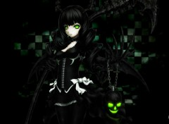 Fonds d'écran Manga black rock shooter