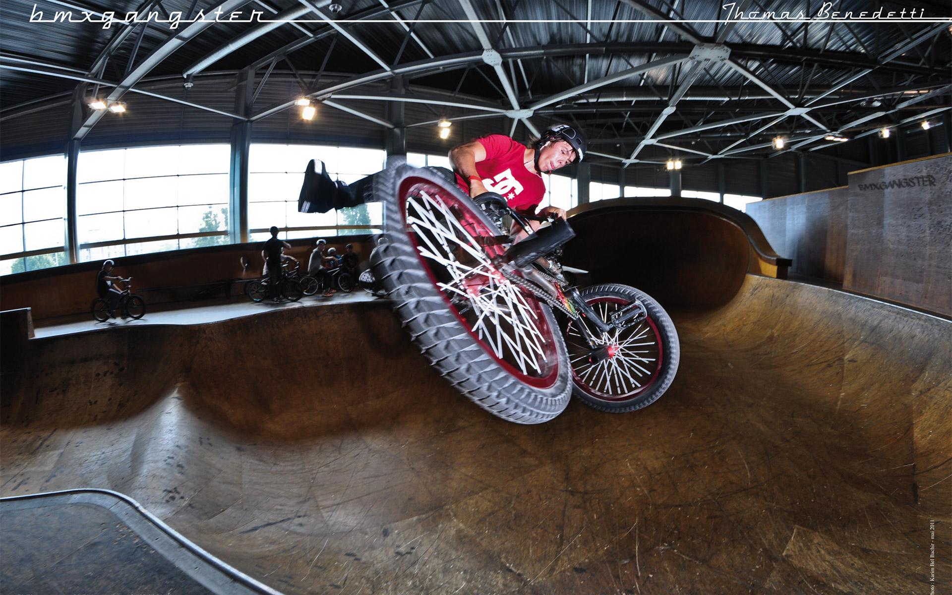 Wallpapers Sports - Leisures BMX bmxgangster team - thomas benedetti