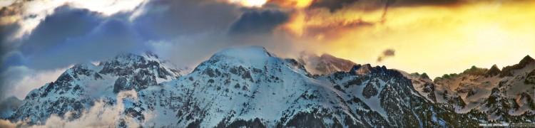 Fonds d'écran Nature Montagnes Hauts sommets