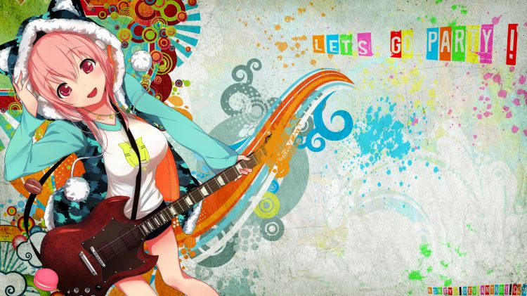 Wallpapers Manga Miscellaneous Let's go party