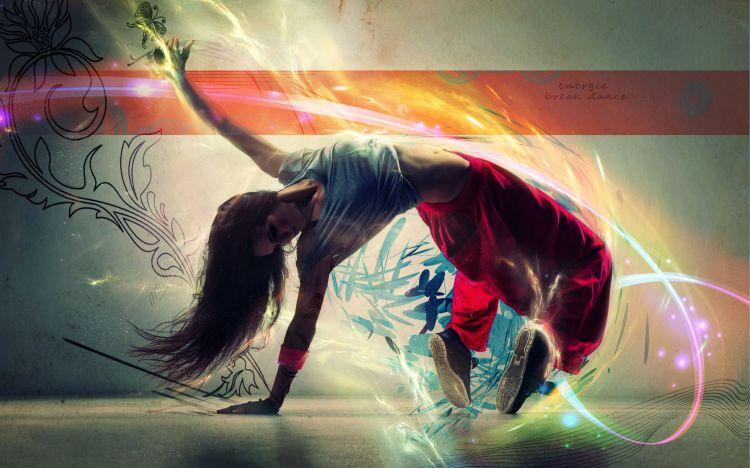 Fonds d'écran Sports - Loisirs Break Dance light dance