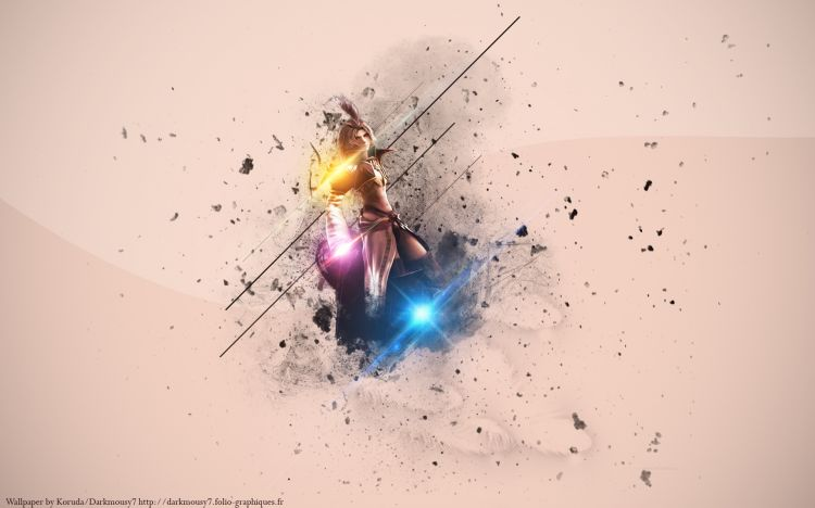 Fonds d'écran Jeux Vidéo Final Fantasy IX Kuja