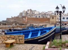 Bateaux Port de pêche d' Essaouira (Maroc)