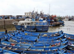 Boats Port de pêche d' Essaouira (Maroc)