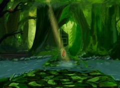 Digital Art Spiritual Forest Chapitre II