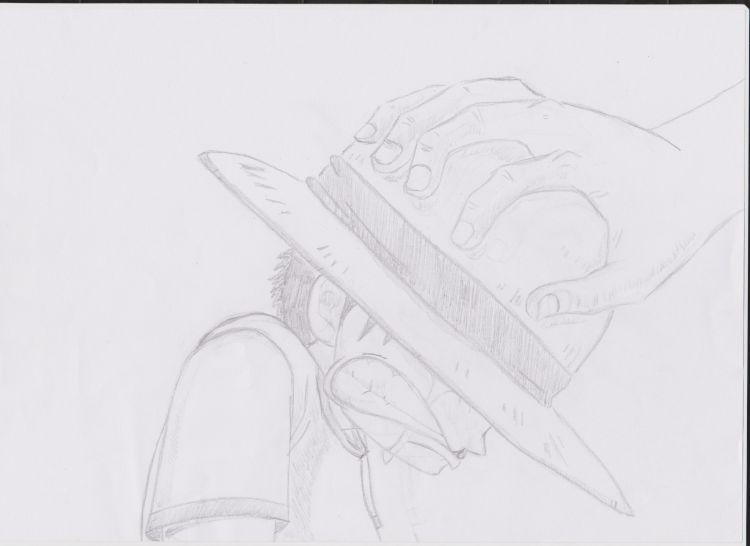 Fonds d'écran Art - Crayon Manga - One piece